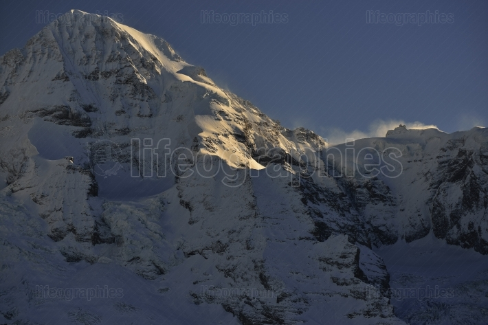 Kleine Scheidegg. Switzerland Alps