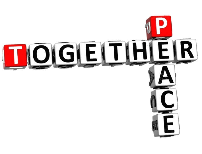 3D Peace Together Crossword