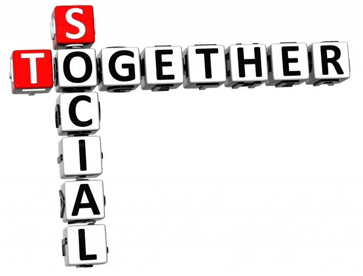3D Social Together Crossword