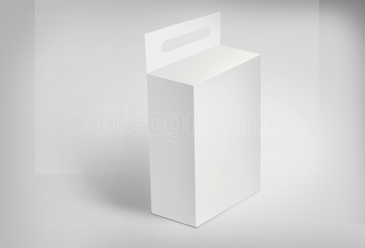 3D White Box on Ground Concept Series