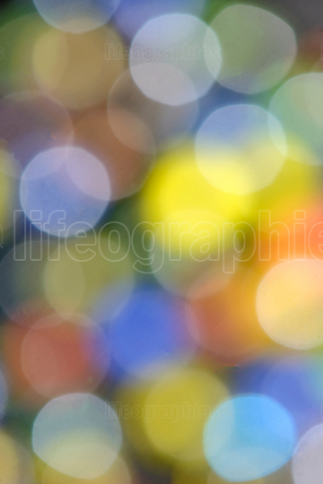 Abstract lens bokeh background