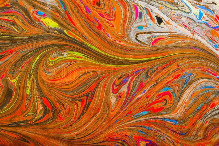 Abstract marbling art patterns as colorful background
