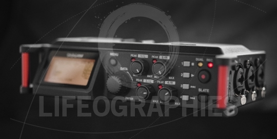 Audio recording solution for filmmakers. Linear PCM recorder