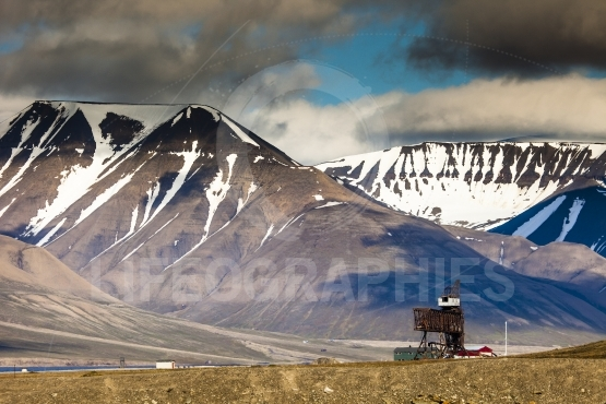 Beautiful scenic view of Spitsbergen (Svalbard island), Norway