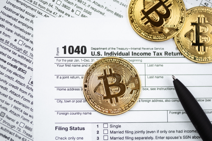 Bitcoins with US tax form 1040