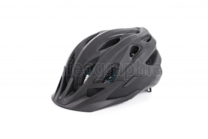 Black cycle helmet