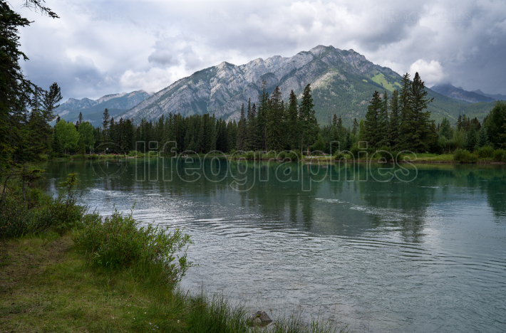 Bow river, Banff National Park, Alberta, Canada