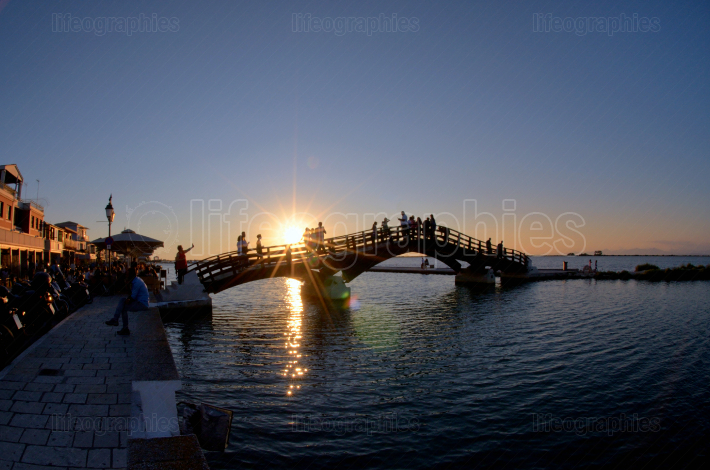 Bridge on the Ionian island of Lefkas