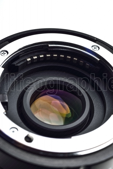 Camera Lens mount with CPU