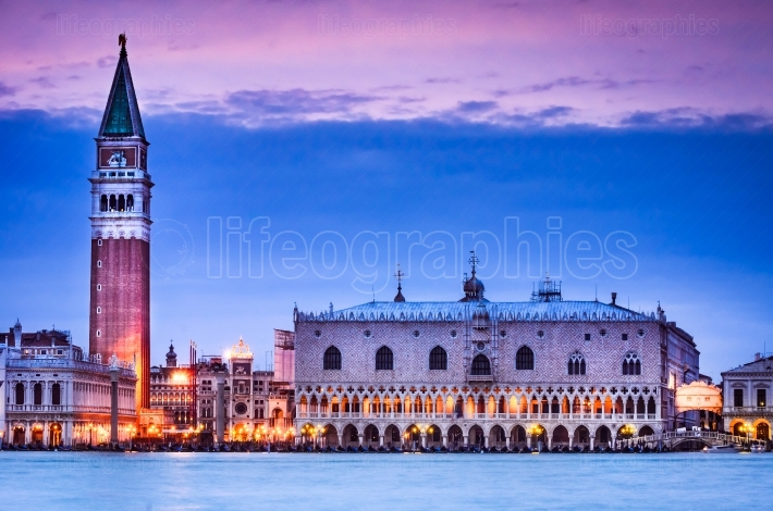 Campanile and Palazzo Ducale, Venice