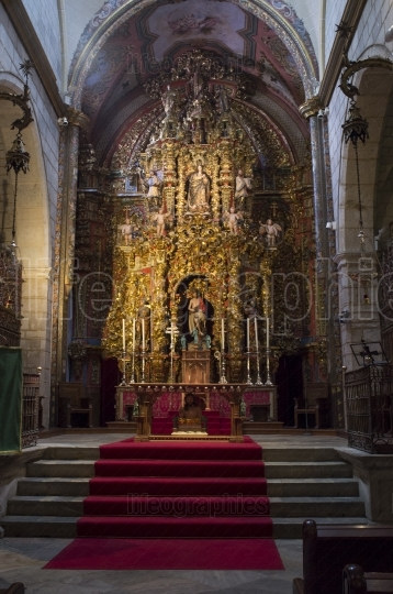 Cathedral of Saint John the Baptist of Badajoz indoor  Altar