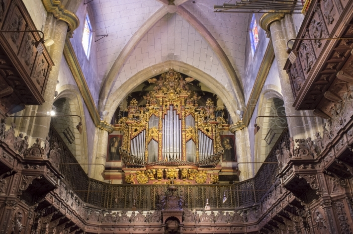 Cathedral of Saint John the Baptist of Badajoz pipe organ