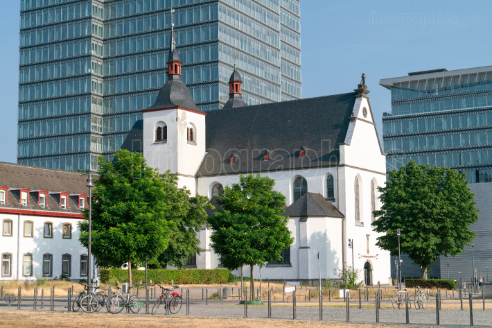 Church St  Heribert, Cologne, Germany