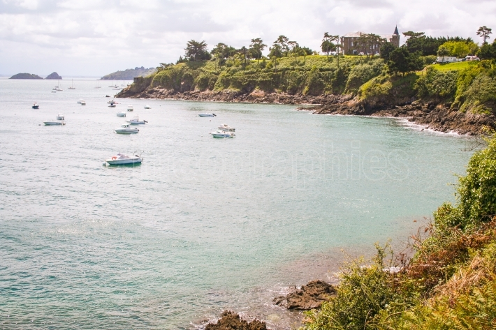 Coast of Brittany, Cancale, France