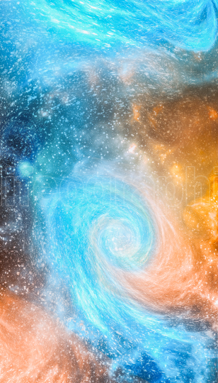 Cosmic art, science fiction wallpaper for smartphone