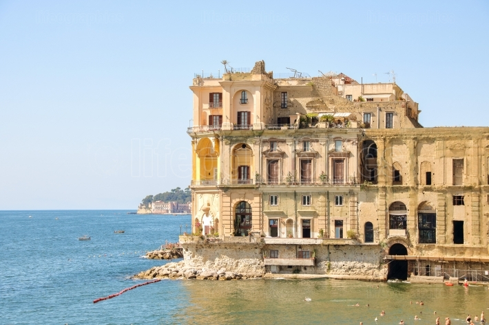 Donn Anna palace in Naples