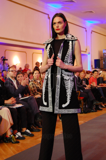 Ethnic Romanian coat