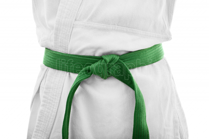 Green belt karate
