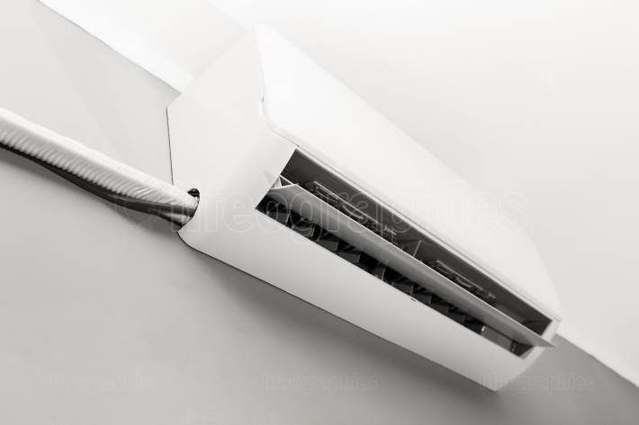 Indoor air conditioning on the wall