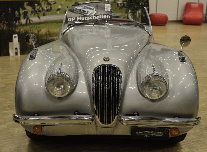 Jaguar XK120 OTS from 1952 old car.