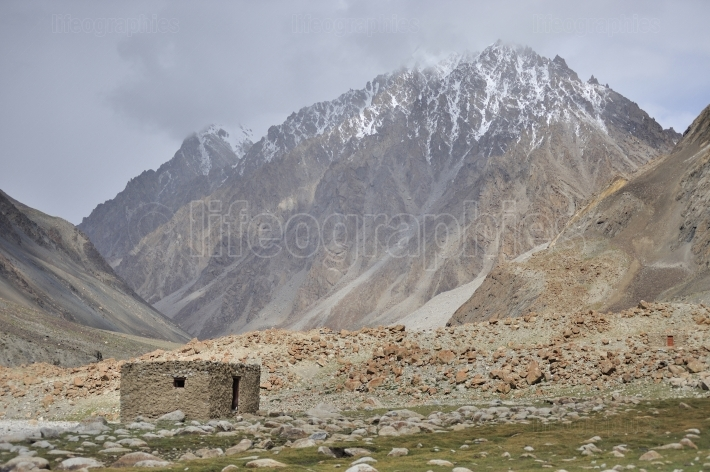 Landscape from Karakoram mountains