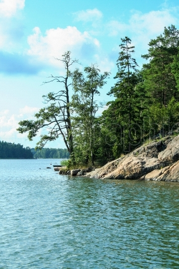 Landscape of Finland s archipelago