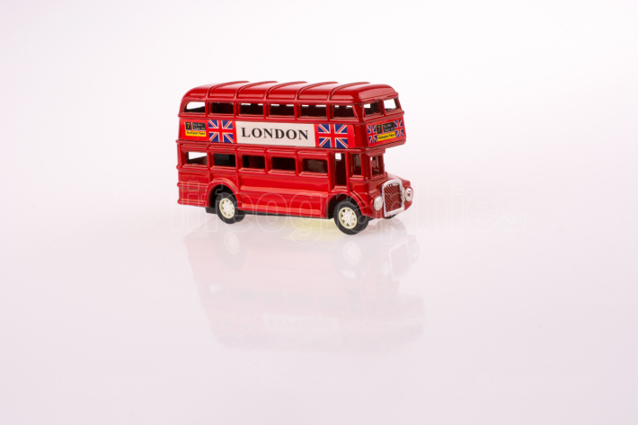 Little model of Double decker bus