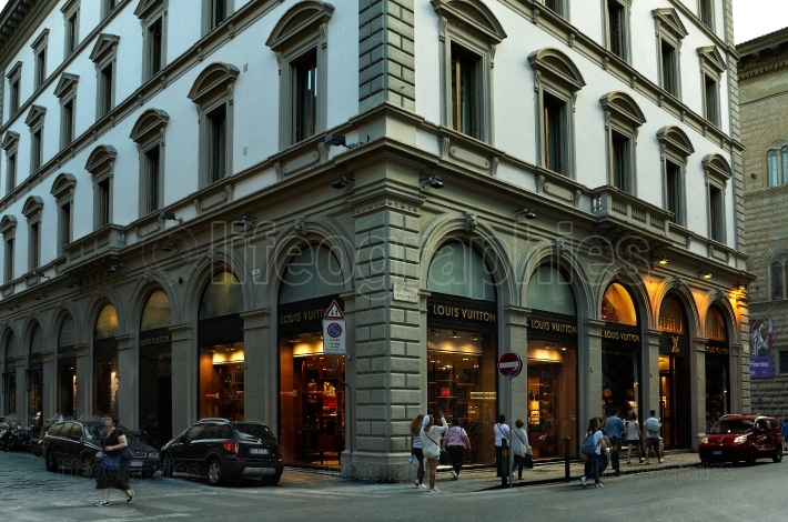 Louis Vuitton store in Florence
