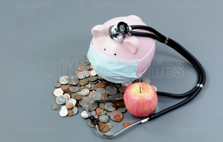 Monitoring the health of the economy with piggybank and medical