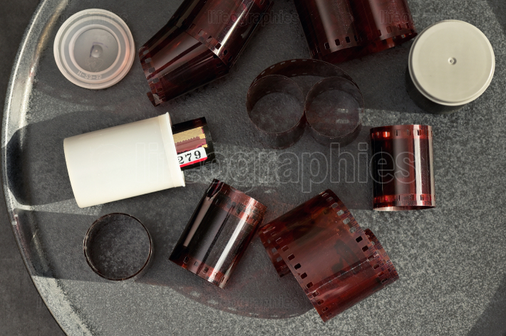 Negative Developed Photo Film