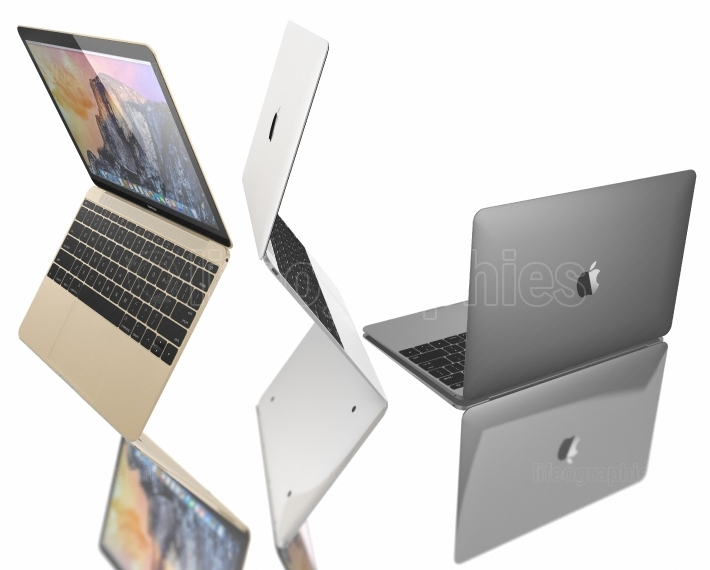 New Gold, Silver and Space Gray of MacBook Air