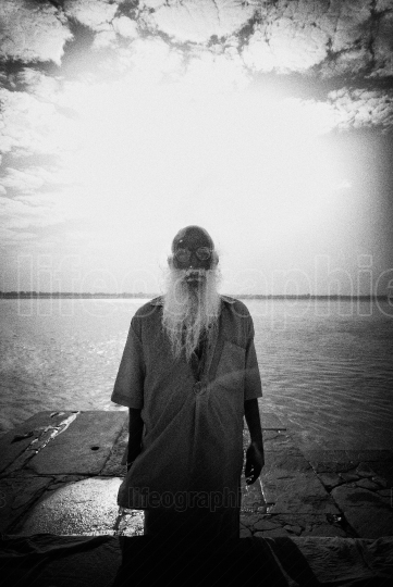 Old man from Varanasi