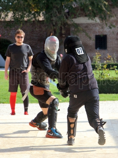 Optimus Bucharest HEMA Open - Longsword Fight