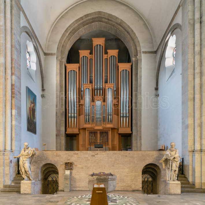 Organ, Church St  Aposteln, Cologne, Germany