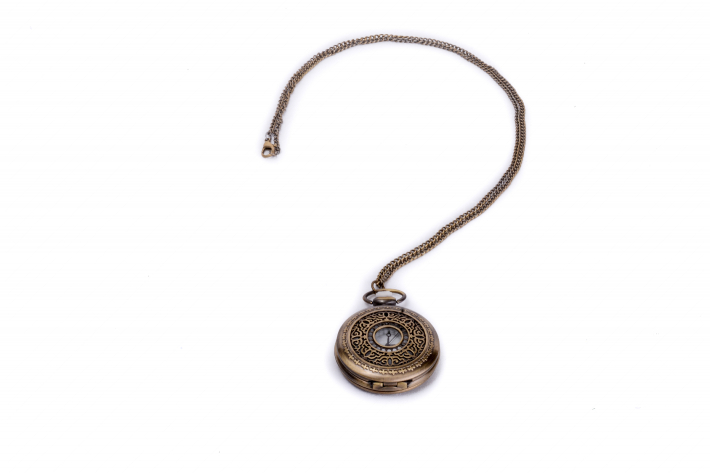Pocket watch and a question mark