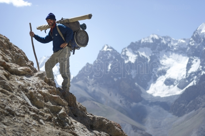 Porter from Karakoram Mountains