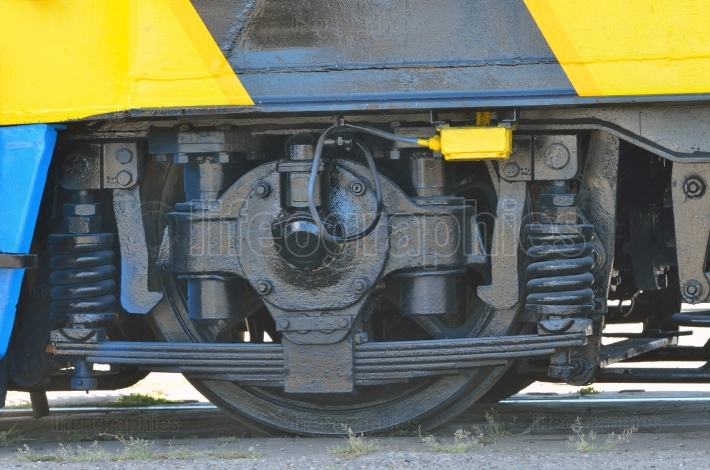 Railway wheels wagon recondition