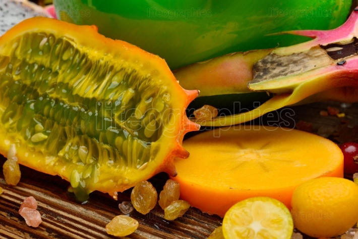 Ripen tropical fruits
