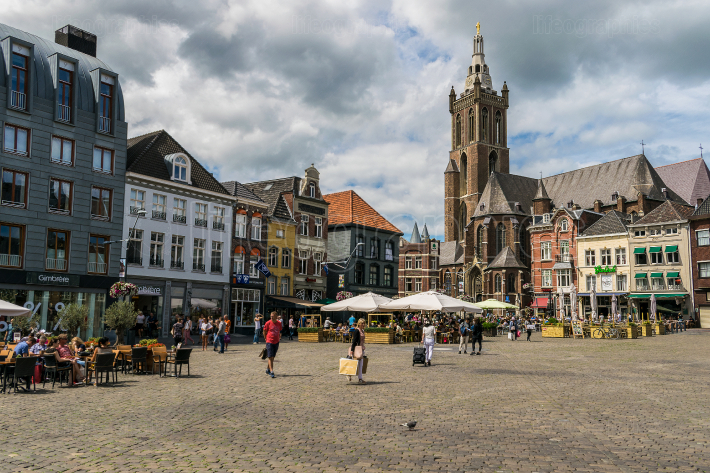 ROERMOND, LIMBURG, NETHERLANDS-June 27, 2019