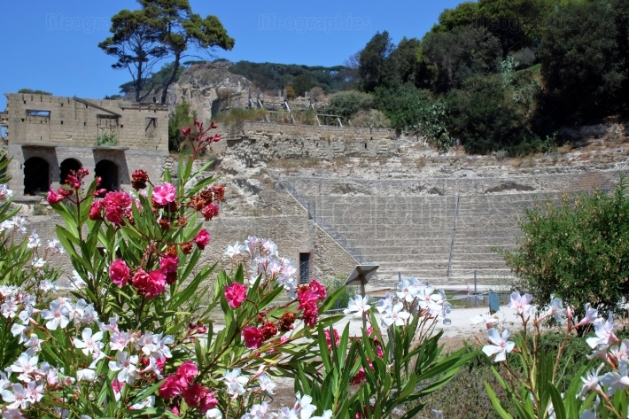 Roman theater in Pollio s villa at Pausyllipon