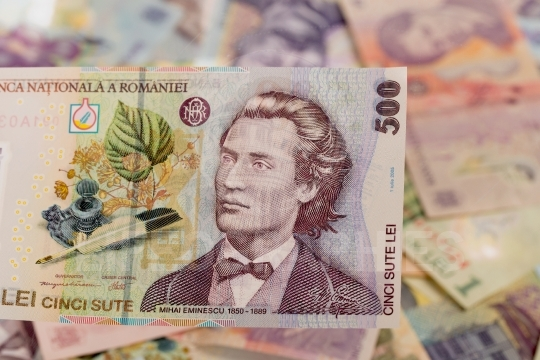 Romanian banknote of 500
