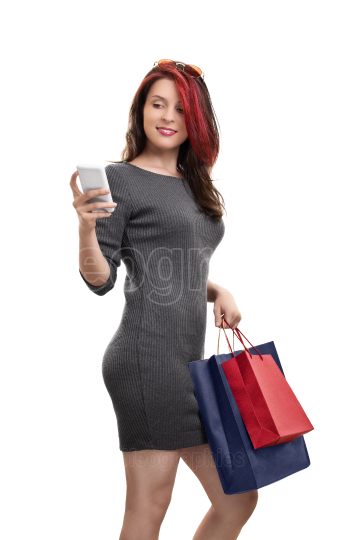 Shopping and social media go together