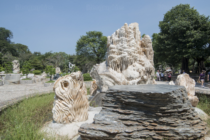 THAILAND PATTAYA MILLION YEARS STONE GARDEN