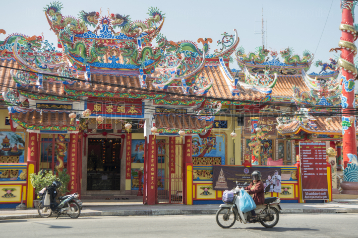 THAILAND PHITSANULOK CHINESE TEMPLE