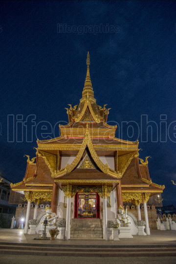 THAILAND PHRAE CITY PILLAR SHRINE