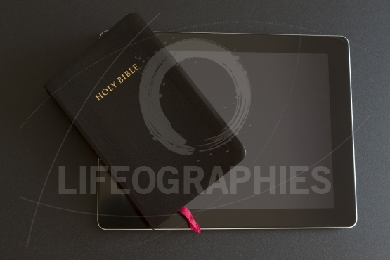 The Holy Bible on Tablet Pc