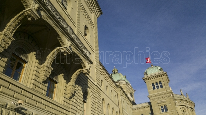 The Swiss house of parliaments (Bundeshaus)