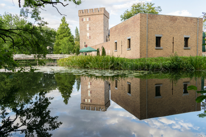 The tower of castle Daelenbroeck, Netherlands