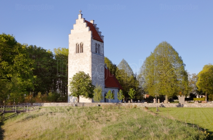 Vasterhejde church building