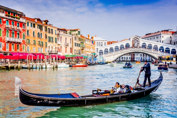 Venice, Grand Canal   Italy